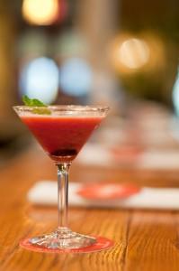 Cherry-tini from Cuba Libre