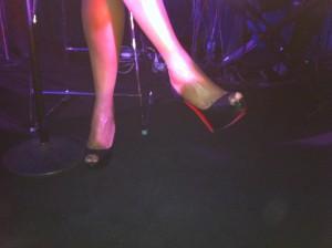 Jennifer Hudson's shoes