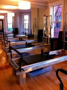 Fuse Pilates Reformer machines
