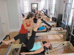Fuse Pilates Class