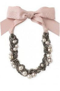 Dc style watch retro glamour dc on heels for Ribbon tie necklace jewelry