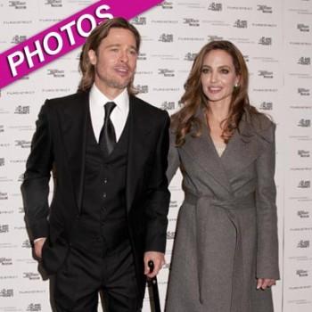 Brad Pitt and Angie Jolie DC