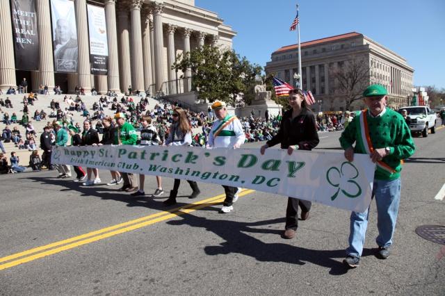 The 2012 Washington, D.C., St. Patrick's Day parade