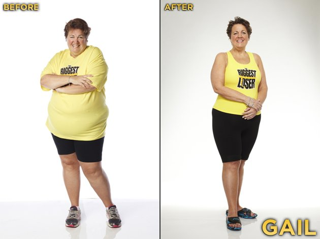 Gail Lee from Season 13 of the Biggest Loser.