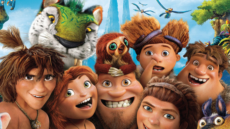 The Croods. (Photo from 20th Century Fox.)The Croods. (Photo from 20th Century Fox.)