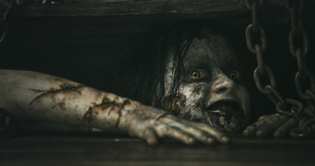 Evil Mia played by Jane Levy (Photo courtesy of TriStar Pictures)