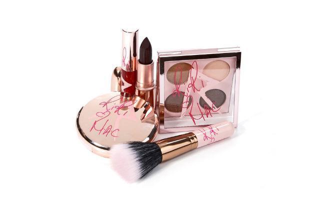 Rihanna's new cosmetics line with Mac.