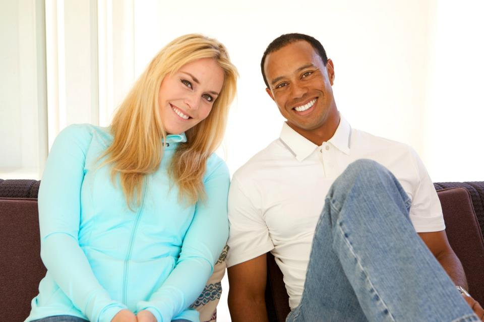 Skier Lindsey Vonn and golfer Tiger Woods confirmed they're dating on Monday.