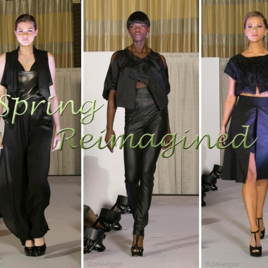 Looks from designer Nathalie Kraynina's collection,