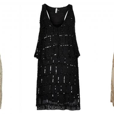 Flapper style dresses