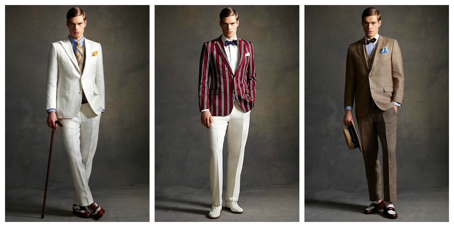 The Gatsby Collection from Brooks Brothers.