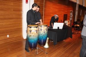 Drummers at LLS Gala