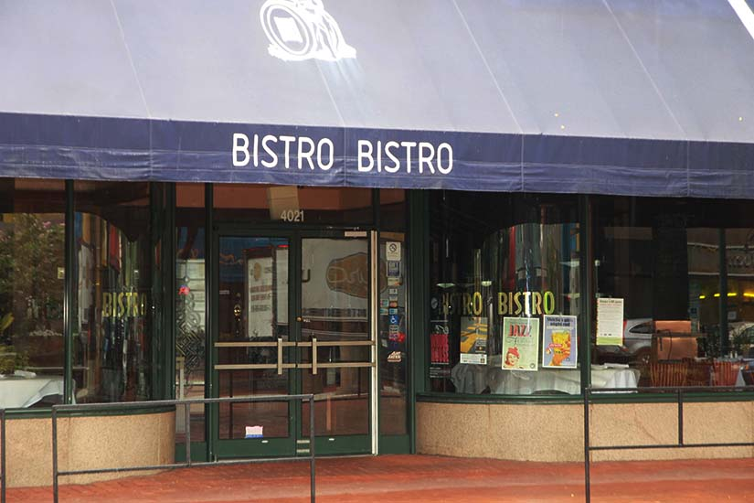 The former Bistro Bistro in Shirlington Village will be replaced by Copperwood Tavern.