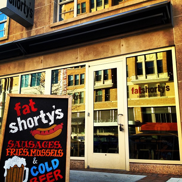 Fat Shorty's sausage grill in Clarendon was one of 2013's restaurants that didn't last a year. (Photo: Rock Harper via Instagram)