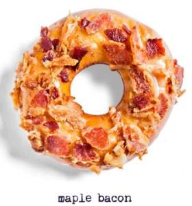 Maple Bacon Doughnut