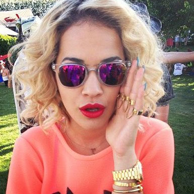 Rita Ora at Coachella