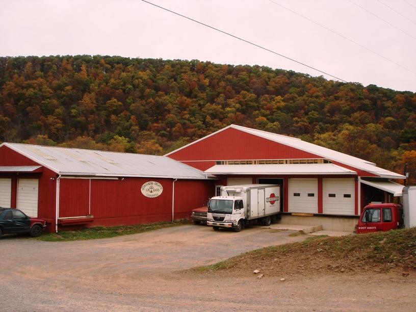 Tuscarora Organics Growers warehouse (Photo courtesy of cafebonappetit.com)