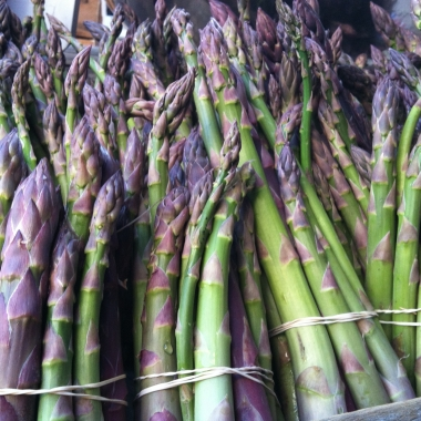 Asparagus, the first sign of spring (Kristy McCarron/DC on Heels)