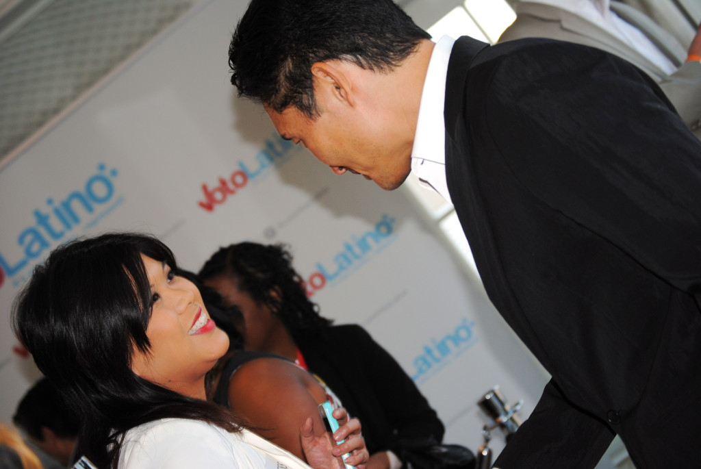 DC on Heels Managing Editor Abbie Elliott interviewing Kim (Ko Im/ DC on Heels)