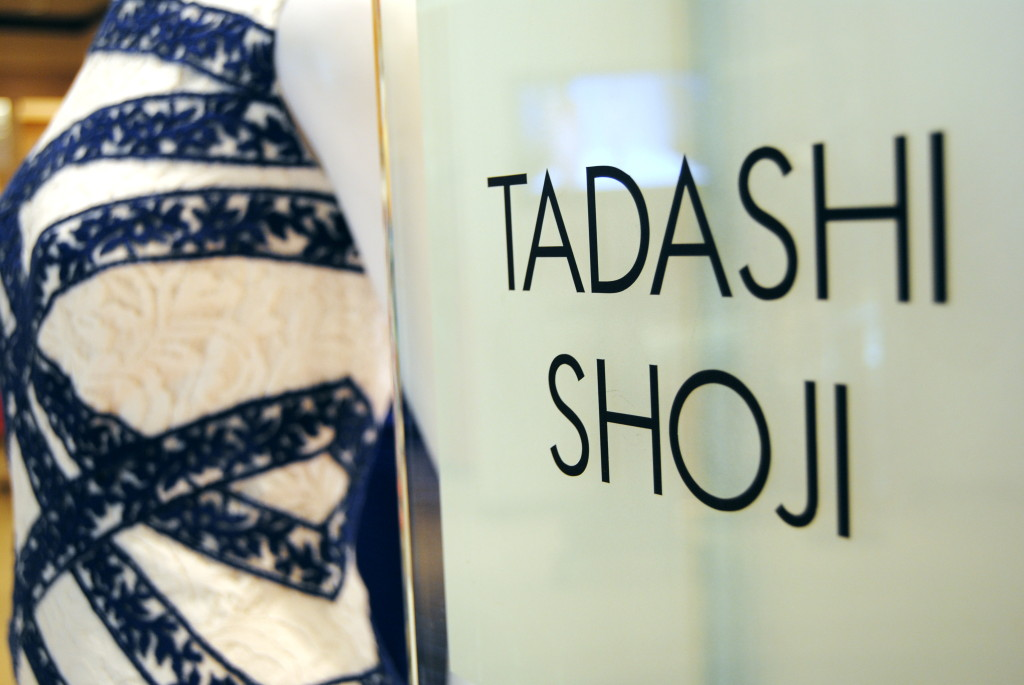 The Tadashi Shoji Collection stands at Tyson's Corner, Va. (Ko Im/DC on Heels)
