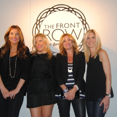 From L-R: Georgetown Cupcake founders Katherine Kallinis and Sophie LaMontagne, Drybar founder Alli Webb and bluemercury CEO Marla Malcom-Beck (Ko Im/DC on Heels)
