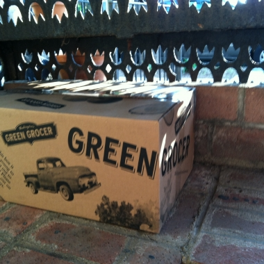 My box of produce from Washington's Green Grocer (Kristy McCarron/DC on Heels)