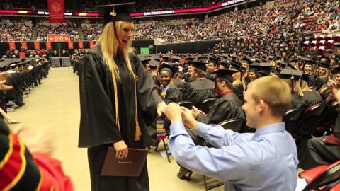 ISU Graduate Accepts