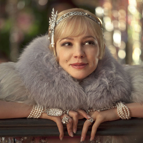 Carey Mulligan as Daisy in The Great Gatsby (2013), jewels by Tiffany & Co.