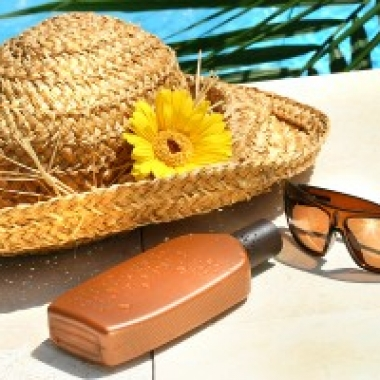 For added protection, wear lip balm with SPF 30 or higher, a tightly woven hat with a wide brim and wrap-around sunglasses with UV protection.