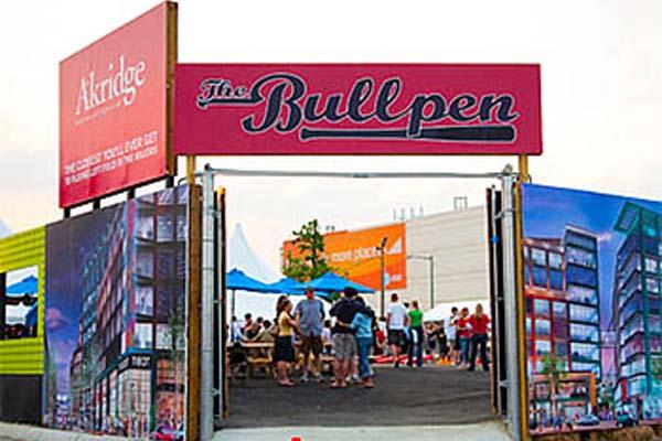 The Bullpen, an open air festival space outside Nationals Statdium (Source: www.thebullpendc.com)