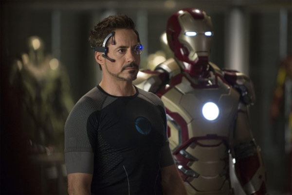 Robert Downey Jr. stars in Iron Man 3. (The Disney Studios)