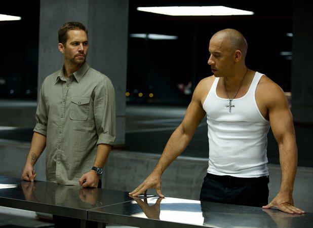 Paul Wilson (left) and Vin Diesel start in Fast & Furious 6. (Universal Studios)