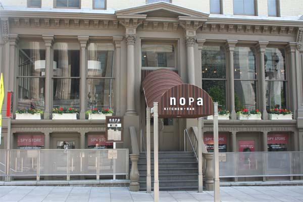 Nopa Opens In Old Zola Space Dc On Heels