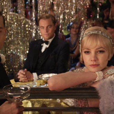 Tobey Maguire, Leonardo DiCaprio, Carey Mulligan and Joel Edgerton (L to R) in The Great Gatsby(Warner Bros.)