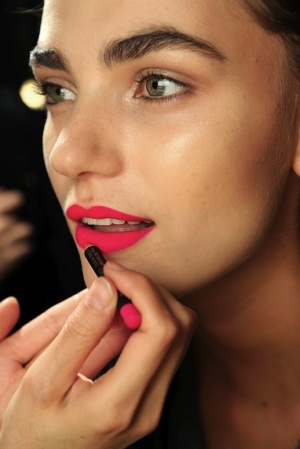 Use a lip pencil for a well defined pout.