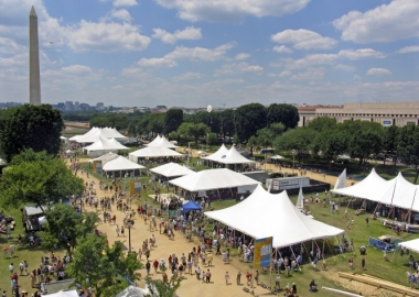 The Smithsonian Institution's Folklife Festival is going on now. (Jeff Tinsley/Smithsonian Institution)