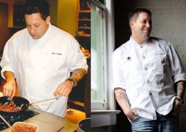 Graffiato owner and Top Chef contestant Mike Isabella gained 40 pounds over a year and a half, but took off 15 pounds in three months by exercising and cutting out alcohol and sugar.