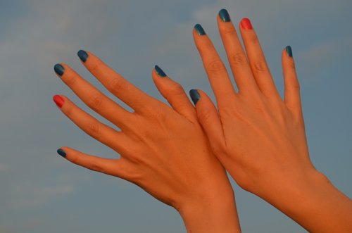 Nail Summer's Hottest Nail summer's hottest look by adding an accent color (Photo by S. Steinke)ke)