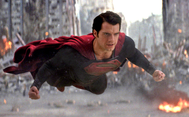Henry Cavill stars as Superman in Man of Steel (Photo courtesy of Warner Bros.)