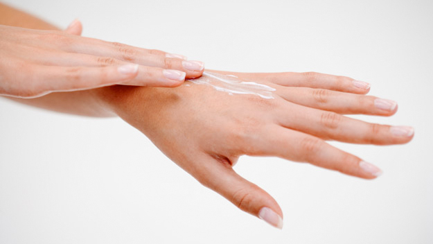 Protect your hands from the harsh summer elements to keep them young looking. (Photo courtesy Nailene)