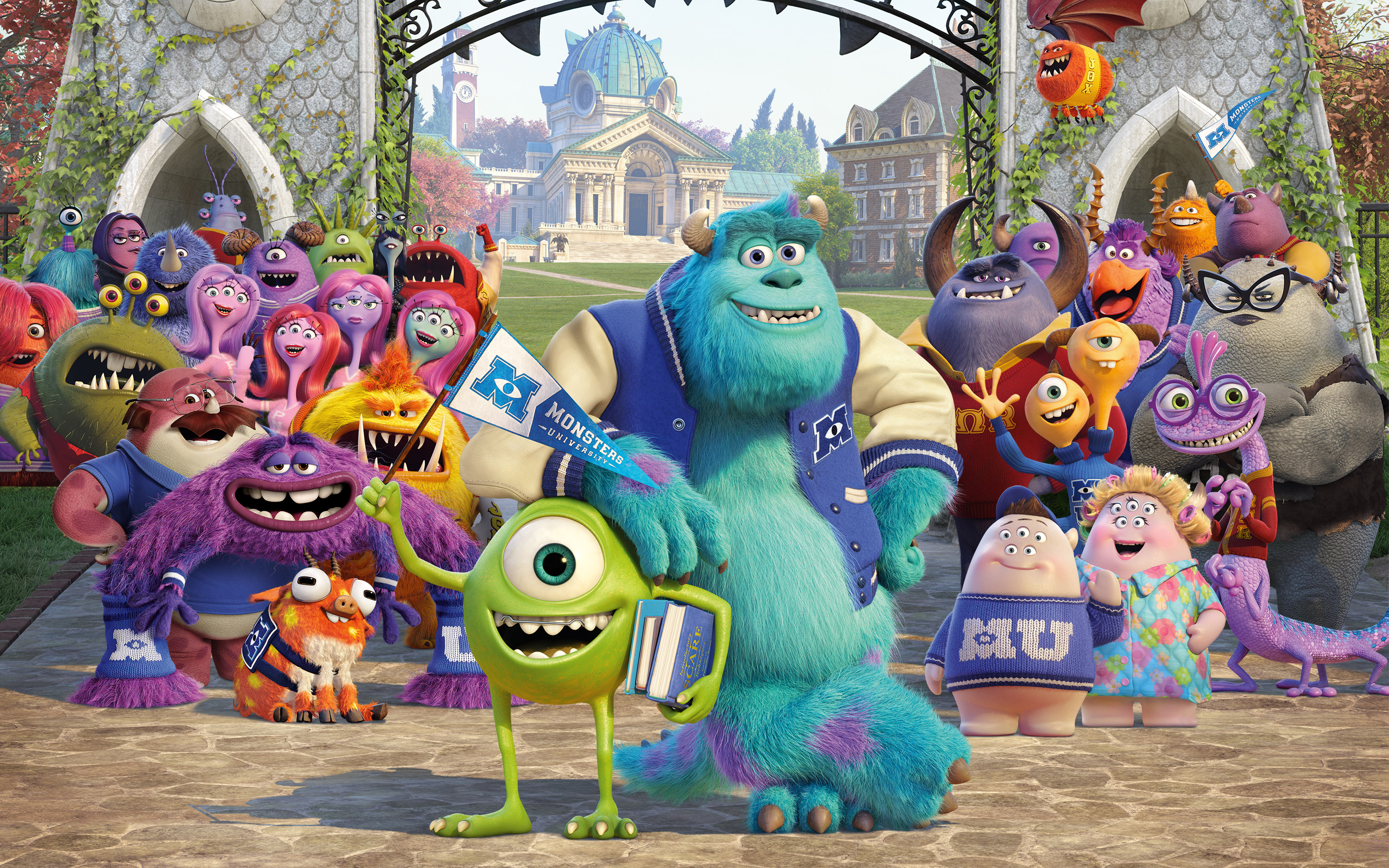 Monsters University led the box office for a second week in a row. (Photo courtesy Disney/Pixar)