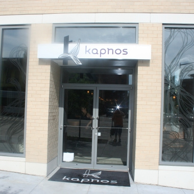 Chef Mike Isabella's Kapnos Greek restaurant opens July 5. (Mark Heckathorn/DC on Heels)