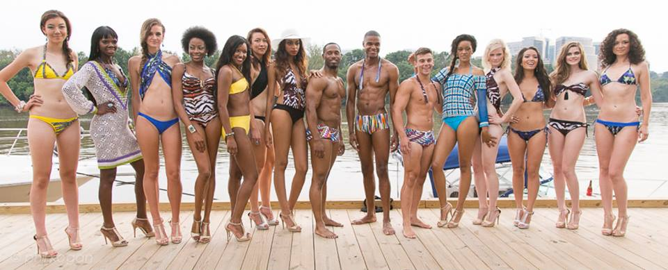 DC on Heels-Liz Parker-Fashion-Swimwear with Style-July 2013