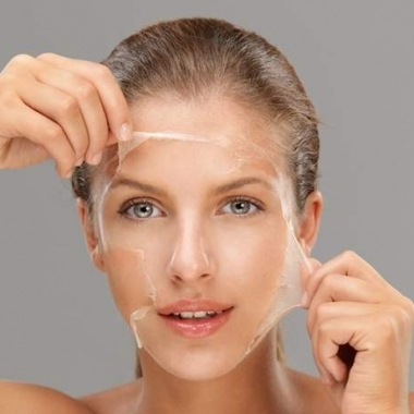 Exfoliation helps keep your skin healthy.