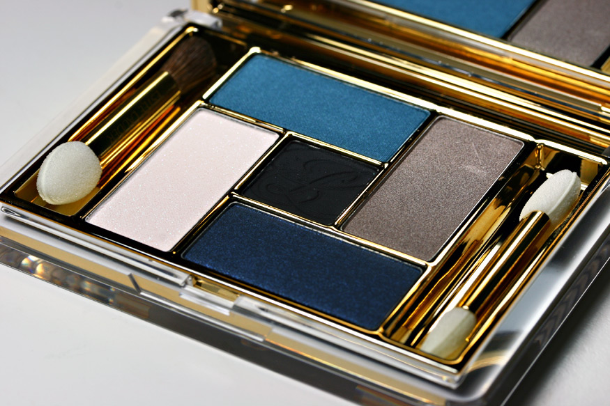 Accentuate brown eyes with Estee Lauder's Blue Dahlia palette (Photo: Makeup and Beauty Blog)