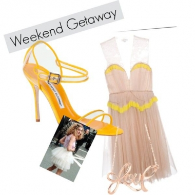 What would Carrie wear today? (Ko Im/Polyvore)