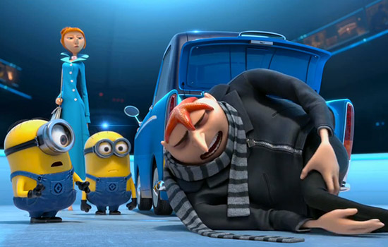Despicable Me 2 remained at the top of the box office July 14-17. (Photo courtesy Universal Pictures)