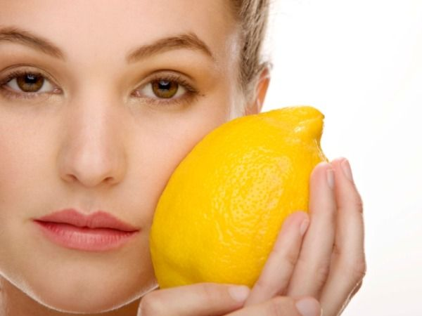 Juice from a fresh lemon will kill bacteria in your pores.