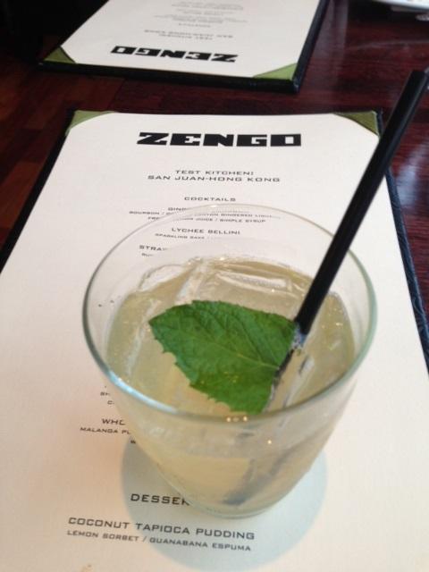 Zengo's new Test Kitchen combines Hong Kong and Puerto Rican flavoring.