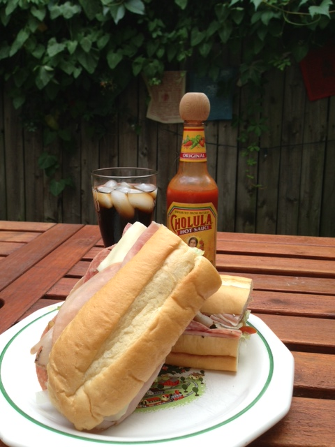 A. Litteri classic Italian sub -- best in the city. (Richard Barry/DC on Heels)